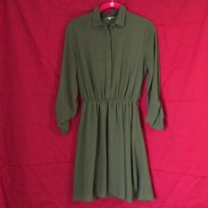 Charlotte Russe lined collared dress size XS